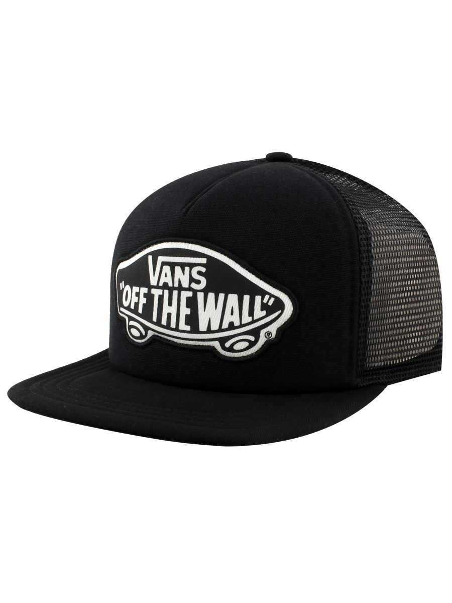 3a8bf1dc300 Vans Beach Girl Onyx White Trucker Cap - Buy Online at Grindstore.com