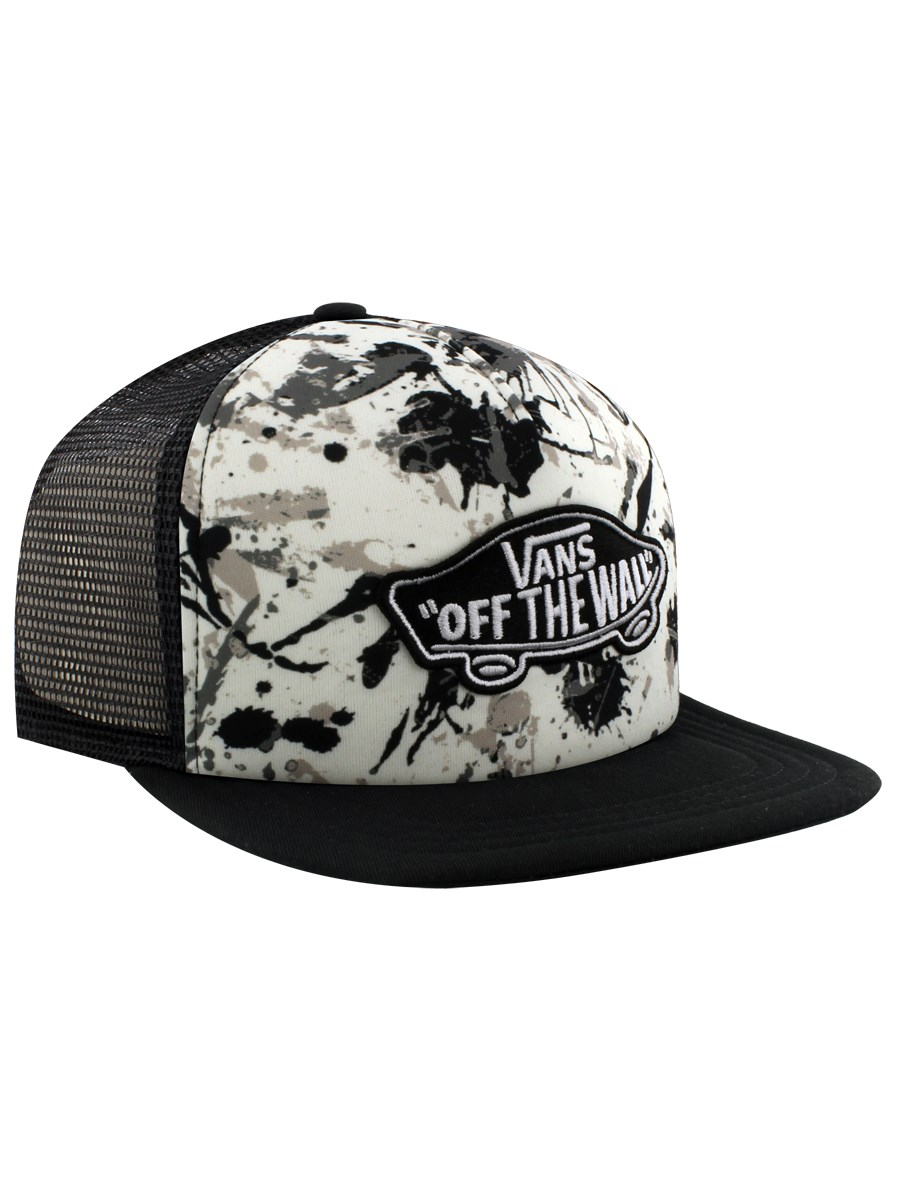 e8a5e9df530 Vans Classic Patch Splatter Trucker Cap - Buy Online at Grindstore.com