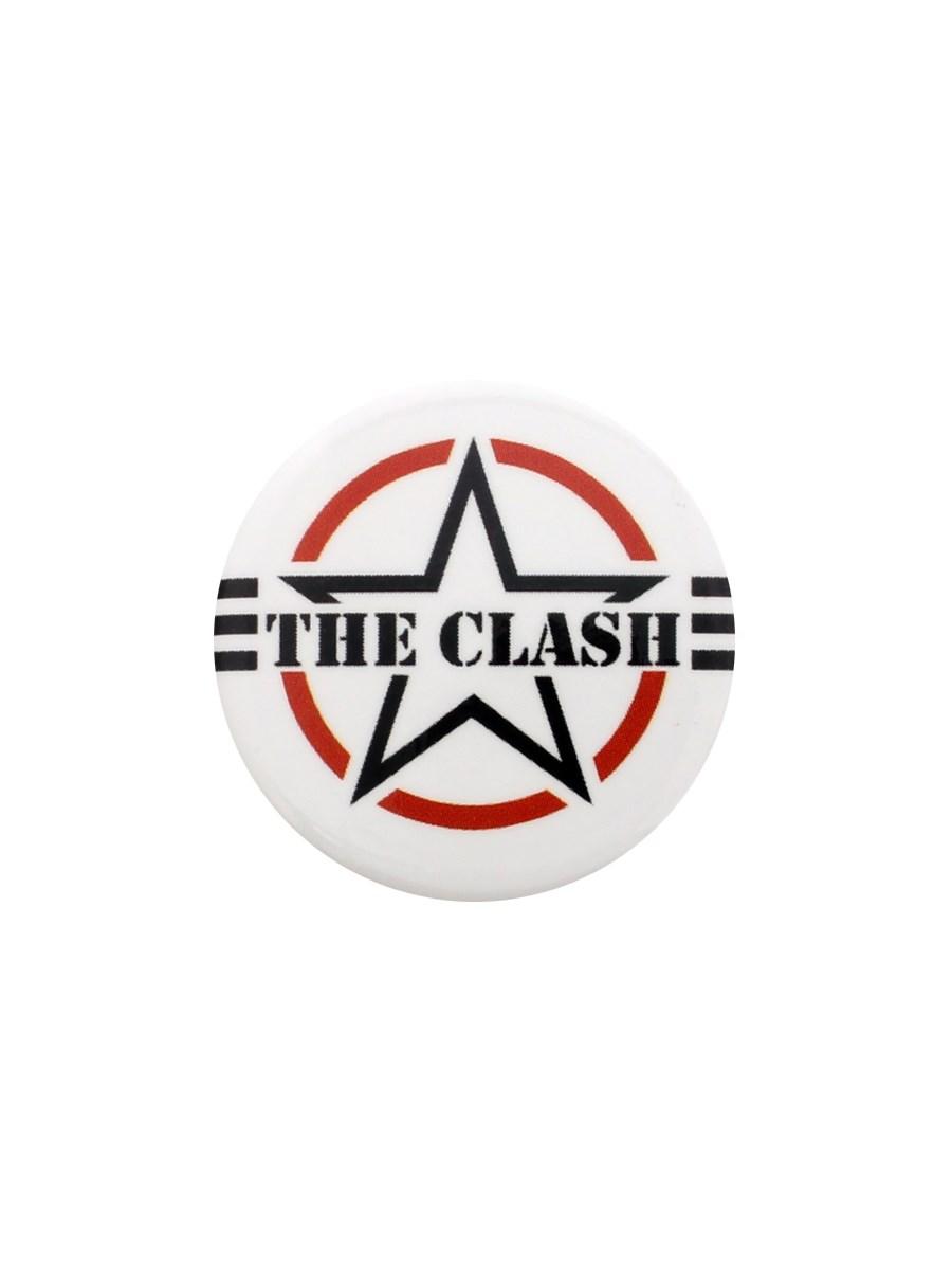 The Clash Af Logo Badge Buy Online At Grindstore Com