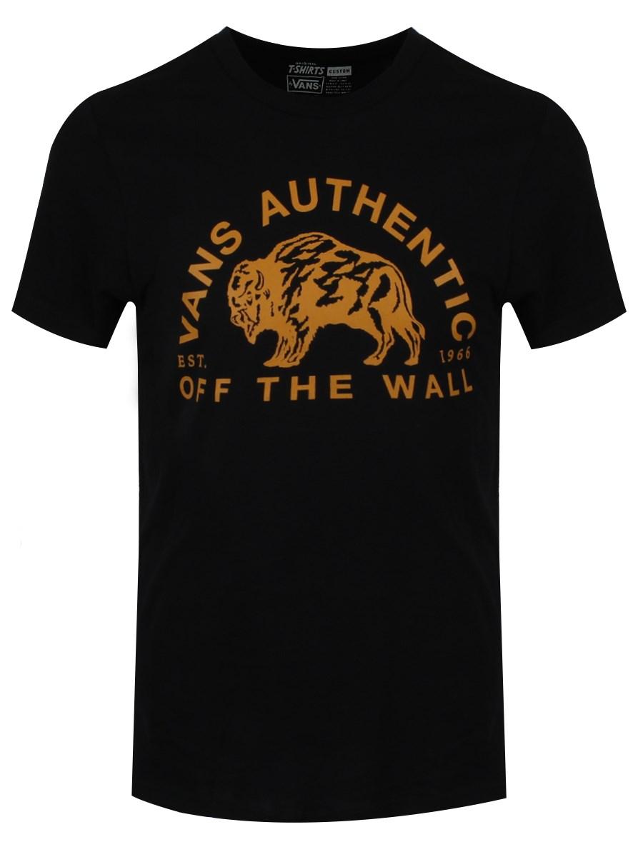 7bc1e798b9 Vans Authentic Men s Buffalow Black T-Shirt - Buy Online at ...