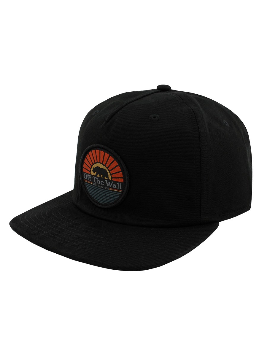 d830a4aabb9 Vans Cali Bear Off The Wall Black Cap - Buy Online at Grindstore.com
