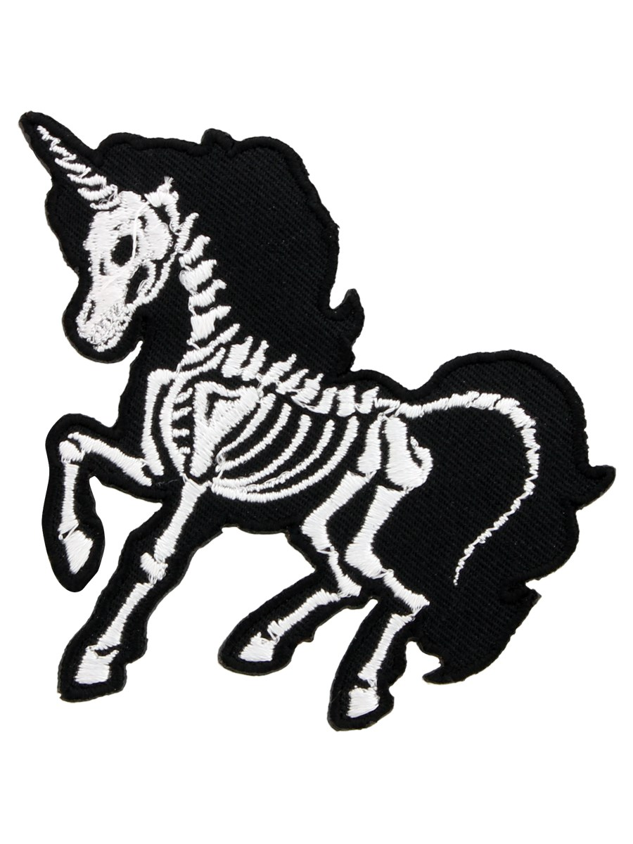 unicorn skeleton patch buy online at grindstore com heart clipart black and white free Valentine Heart Clip Art