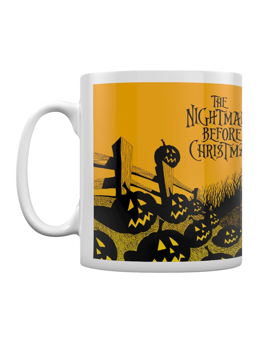 Nightmare Before Christmas Graveyard Scene Mug - Buy Online at ...