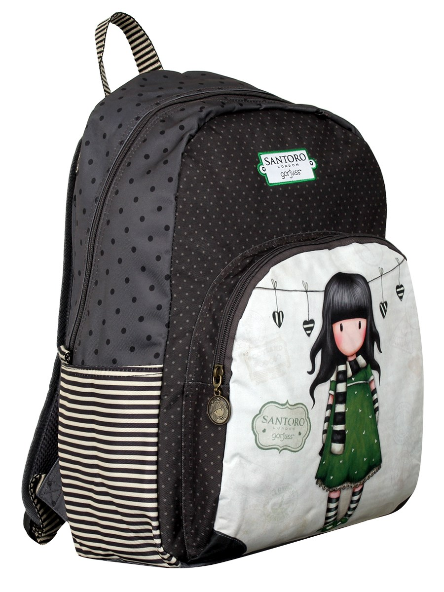Santoro Gorjuss The Scarf 2 Zip Rucksack