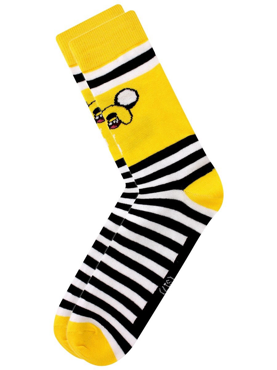 53c701b52e2 Adventure Time Jake Men s Crew Socks - Buy Online at Grindstore.com