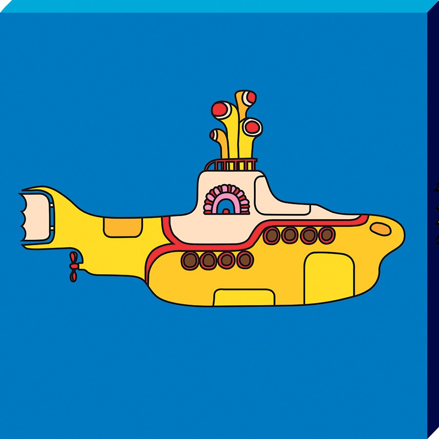 The Beatles Yellow Submarine Bold Canvas Print Buy