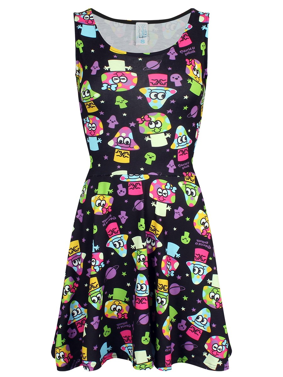 8fe75fba505ad David & Goliath Mushi Mushi Skater Dress
