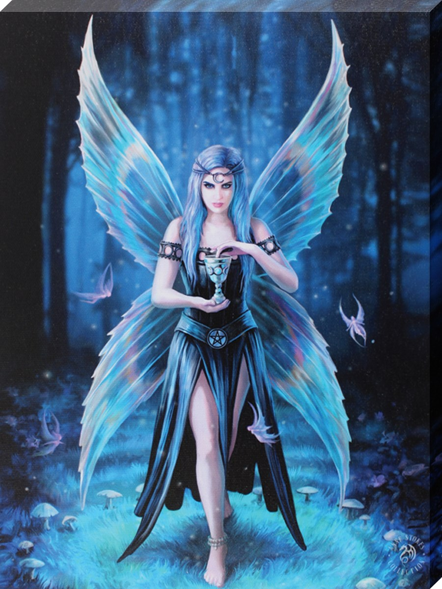 Anne Stokes Enchantment Canvas Buy Online At Grindstore Com