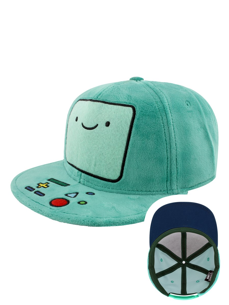 cf23f929ff2 Adventure Time Beemo Plush Snapback Cap - Buy Online at Grindstore.com