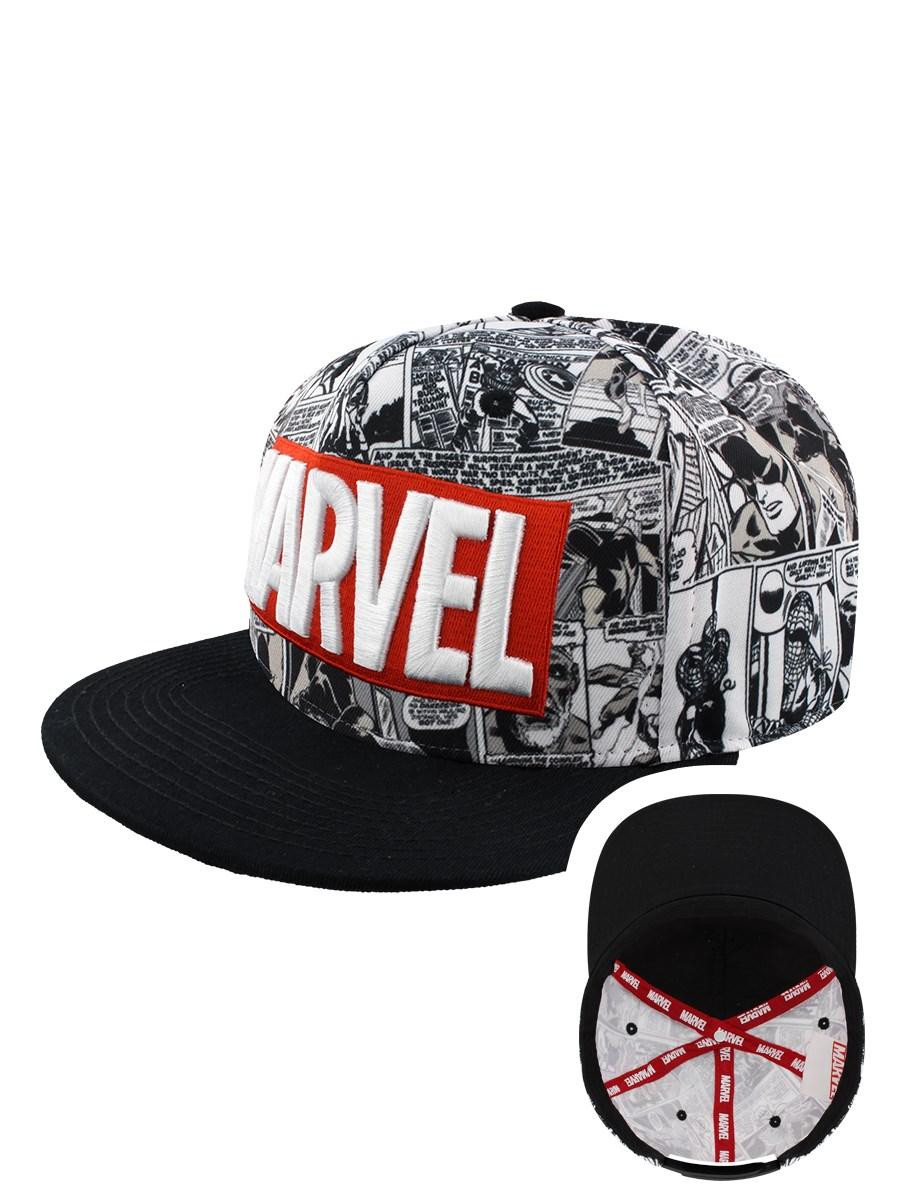 Marvel Classic Logo Snapback Cap - Buy Online at Grindstore.com 15dfa1b3a97