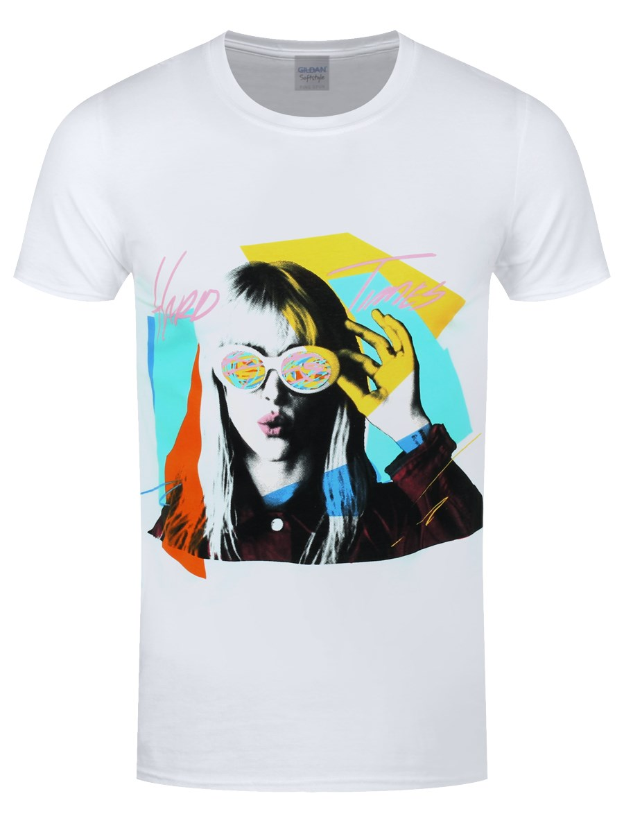Paramore Hard Times Men's White T-Shirt - Buy Online at ... Paramore Merch