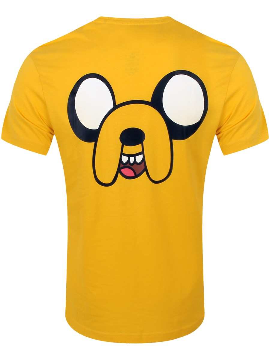 273184c0bac Adventure Time Jake With Finn In Pocket Men s Yellow T-Shirt - Buy ...