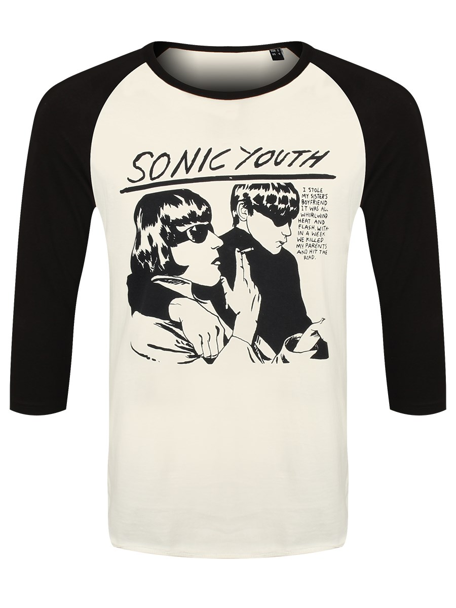Sonic Youth Goo Men\'s Baseball Shirt - Buy Online at Grindstore.com