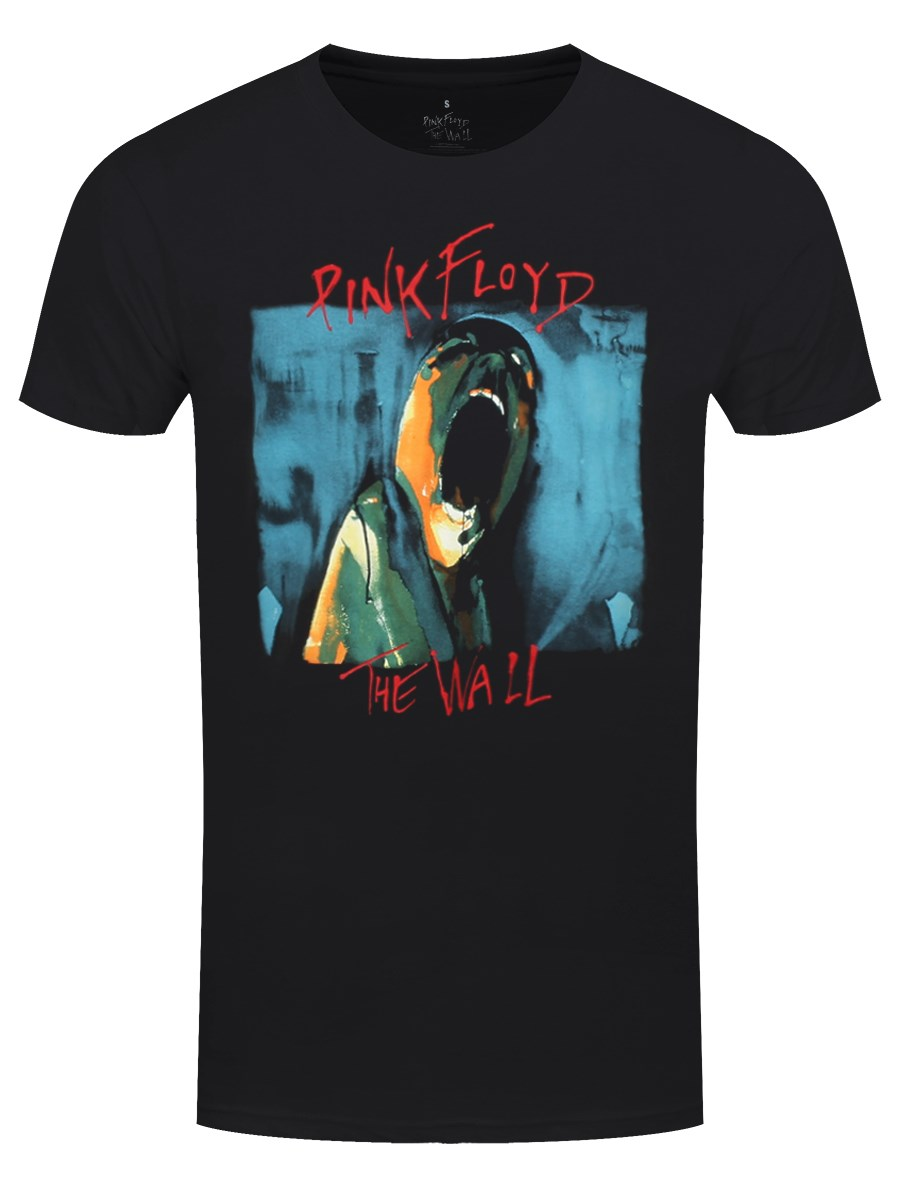 Pink Floyd The Wall Scream Men's Black T-shirt - Buy Online at ...