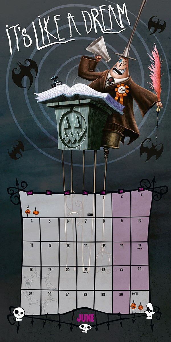 Nightmare Before Christmas 2018 Square Calendar - Buy Online at ...