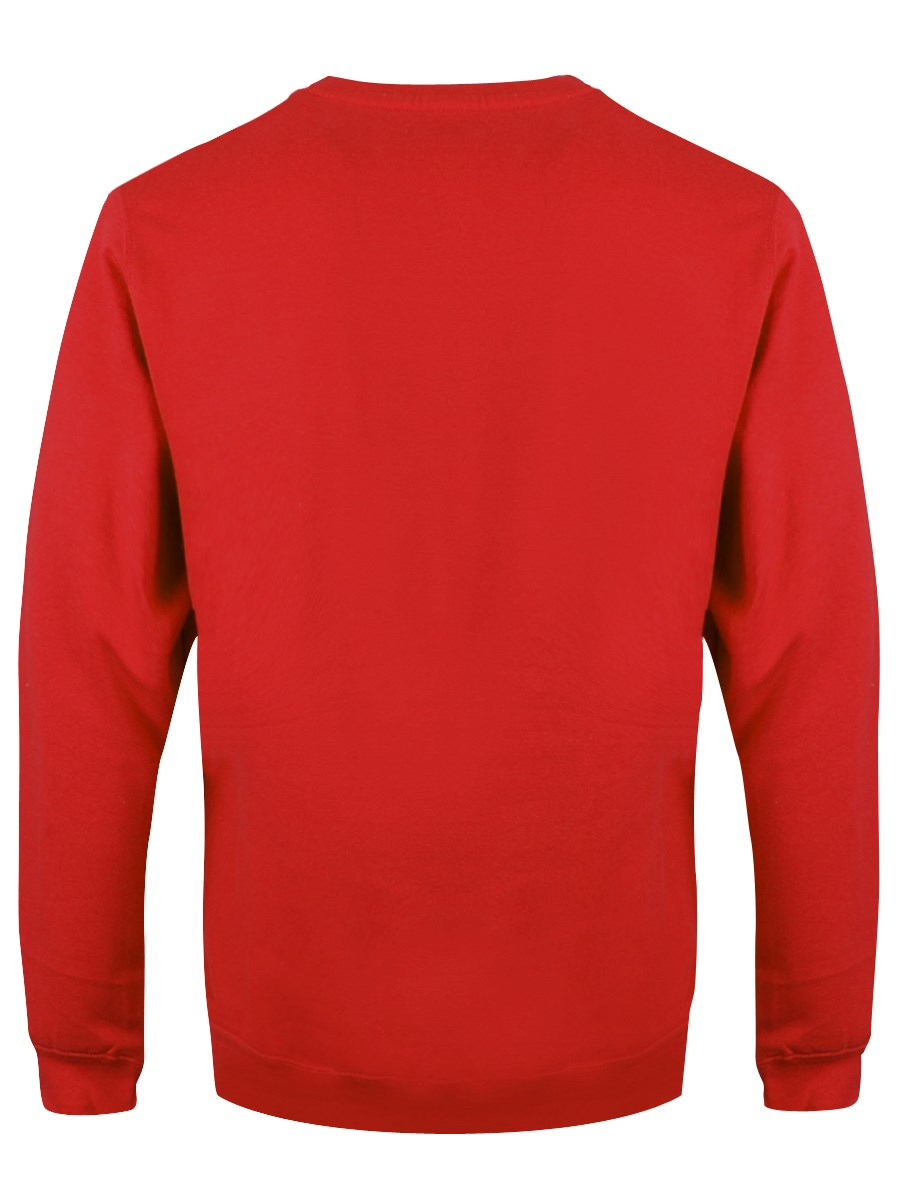 f0f1abdcbe0 You're Welcome! Men's Red Christmas Jumper