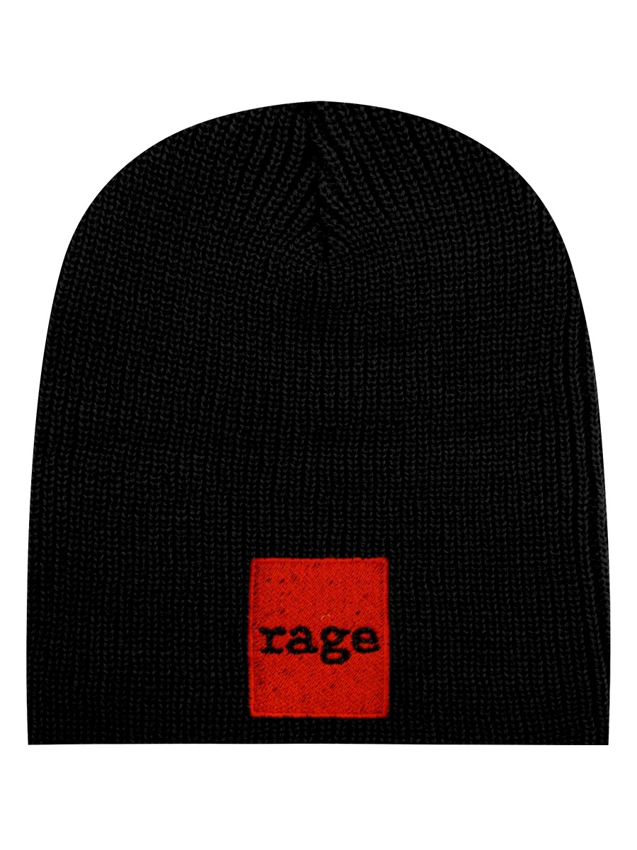 Rage Against The Machine Red Square Black Beanie - Buy Online at ... 1e5f5fd1469