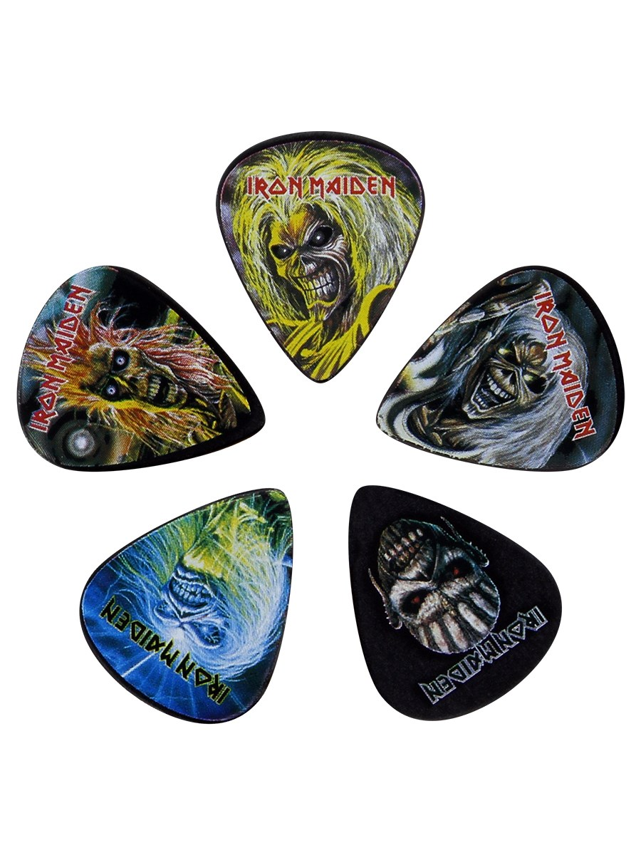 Iron Maiden Eddie Plectrums 5-Pack - Buy Online at Grindstore.com