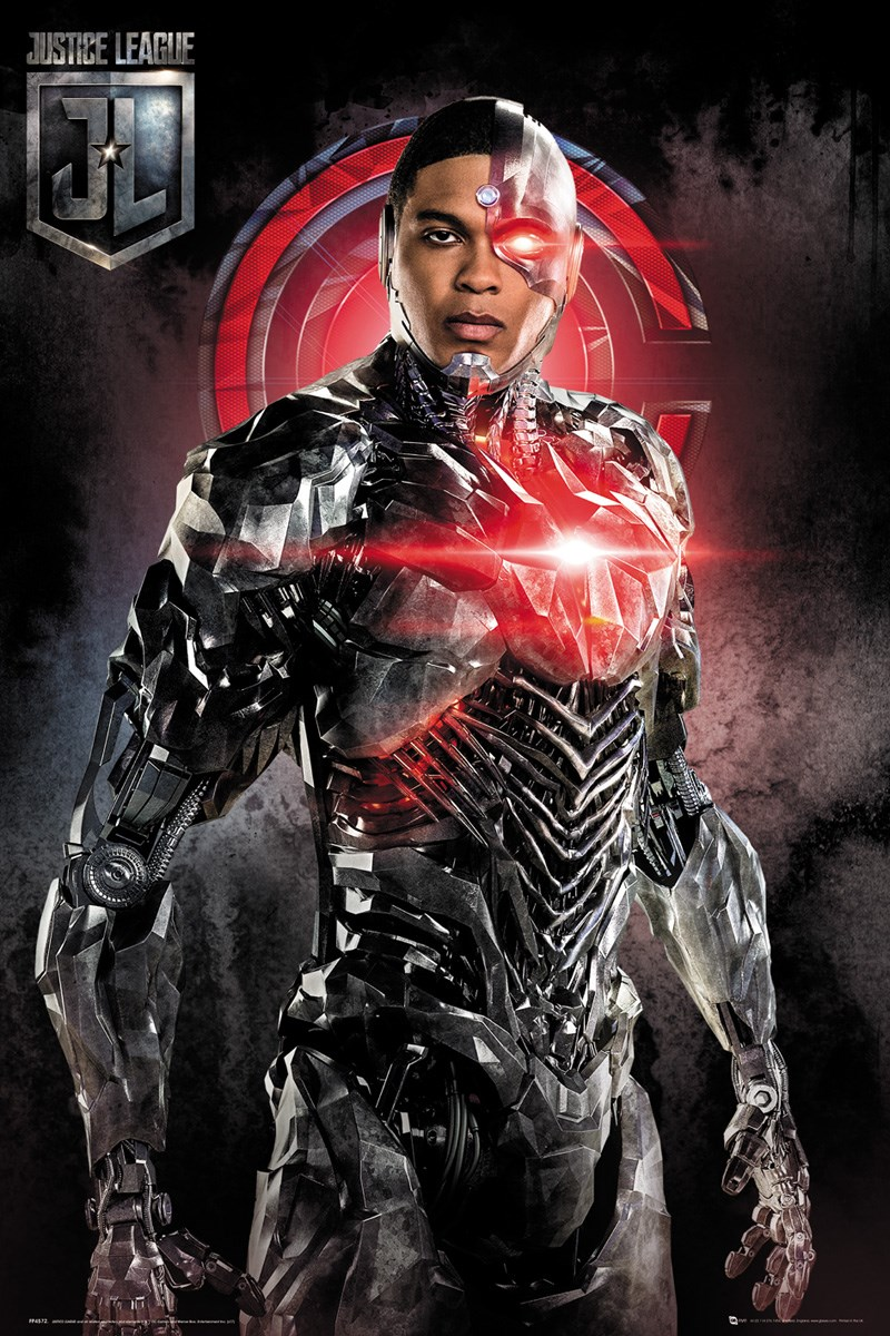 justice league cyborg solo poster buy online at
