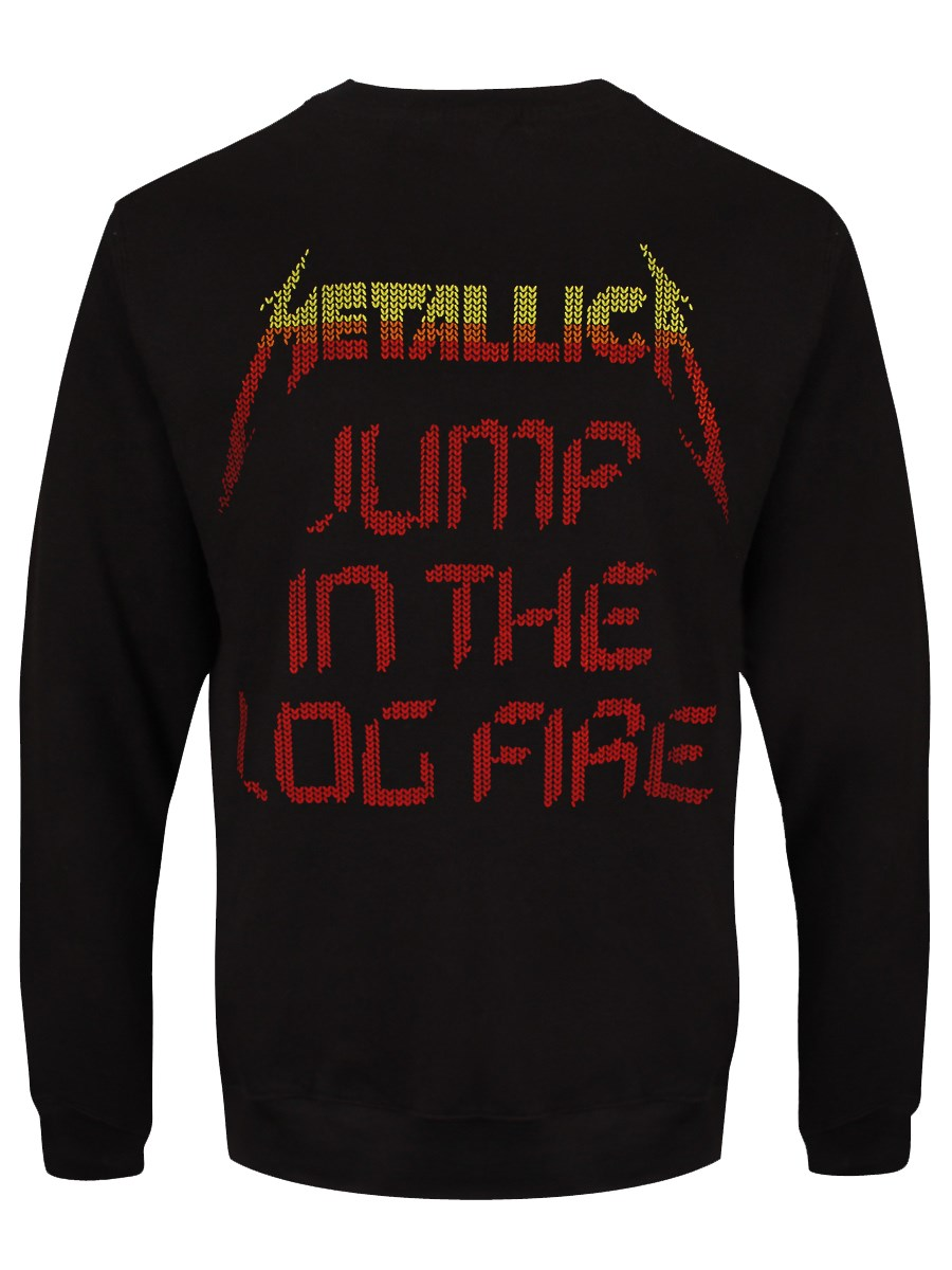 front back - Metallica Christmas Sweater