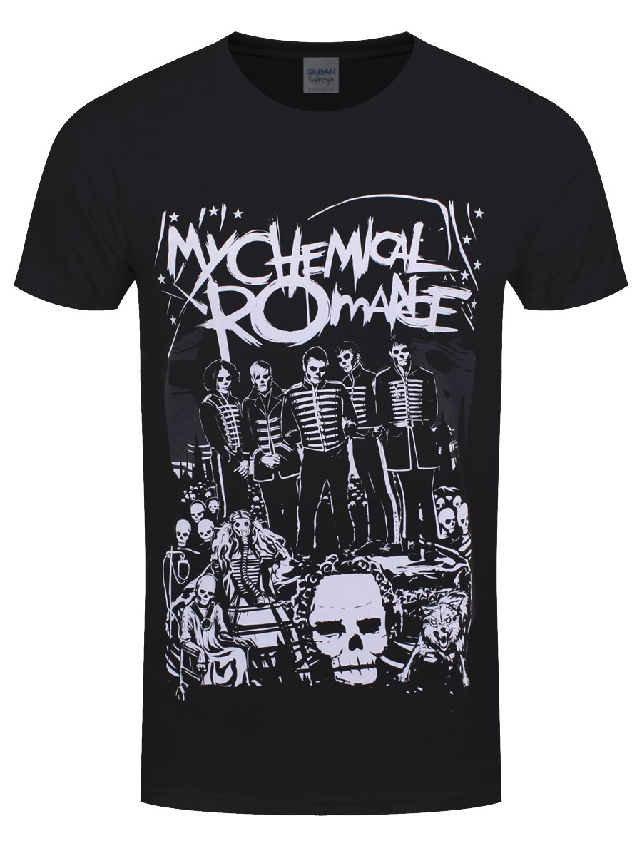 My Chemical Romance Dead Parade Mens Black T Shirt Buy Online At
