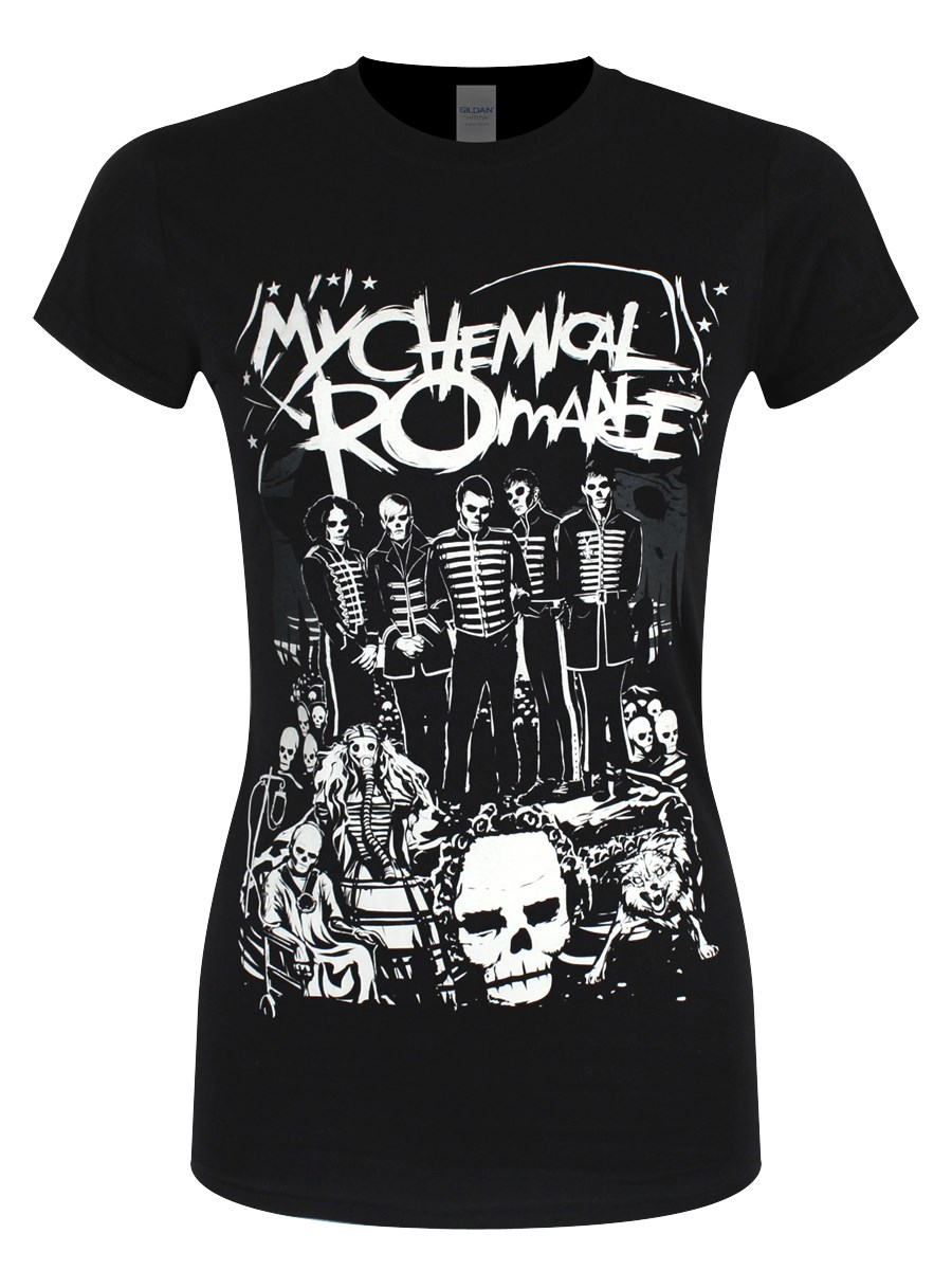 My Chemical Romance Dead Parade Ladies T Shirt Buy Online At