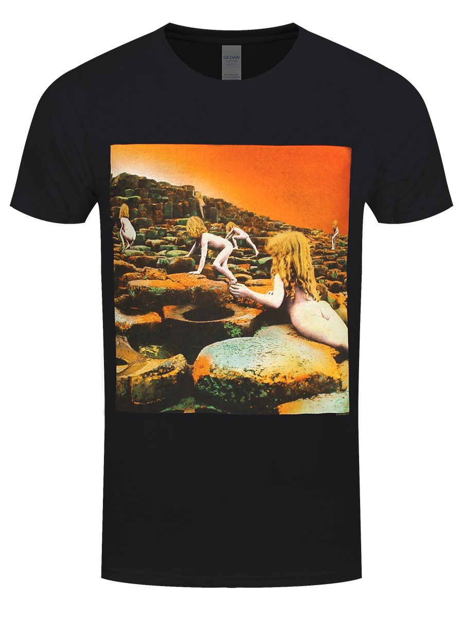 1cc95e86c Led Zeppelin Album Cover Men's Black T-Shirt - Buy Online at ...