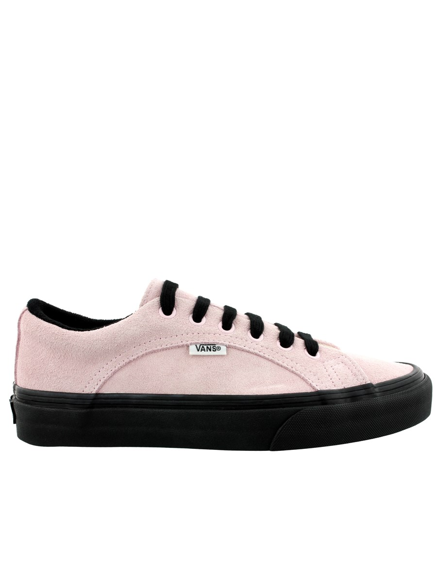 ab58aa8cdf6 Vans Lampin Suede Chalk Pink   Black Trainers - Buy Online at ...