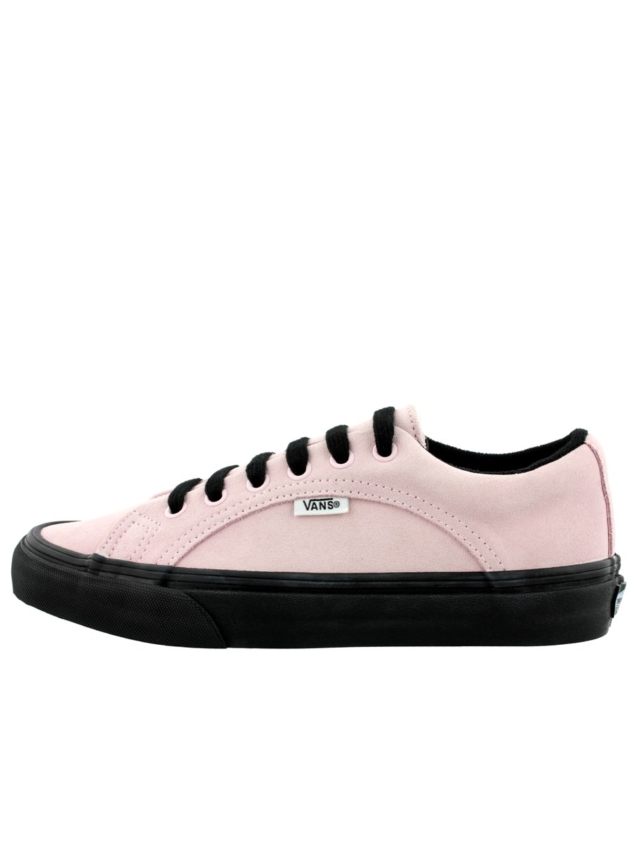 424dff2b32e348 Vans Lampin Suede Chalk Pink   Black Trainers - Buy Online at ...