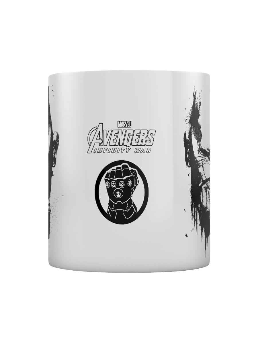 Avengers: Infinity War Thanos Stencil Drip Boxed Mug