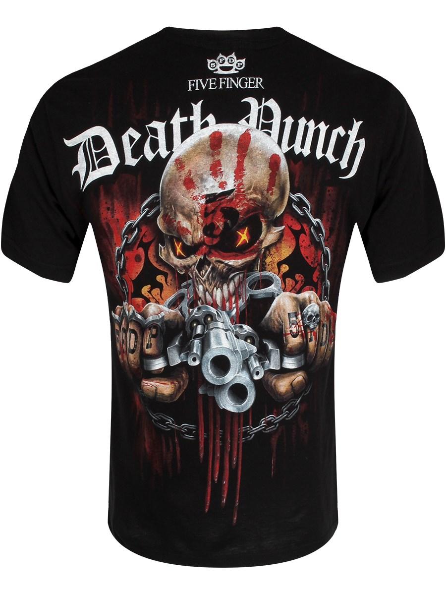 7fa3dbe60d316 Spiral Five Finger Death Punch Assassin Men s Black T-Shirt - Buy ...