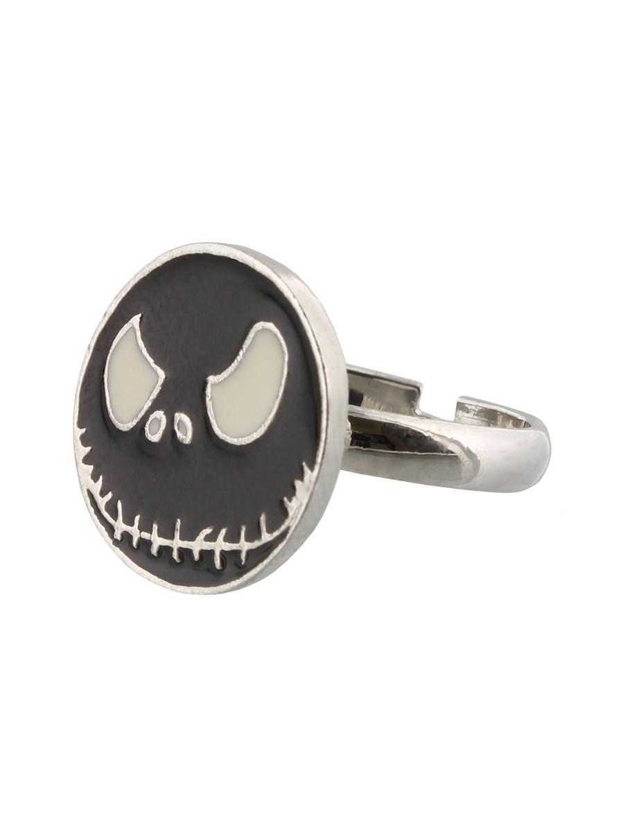 Nightmare Before Christmas Jack Black Ring - Buy Online at ...