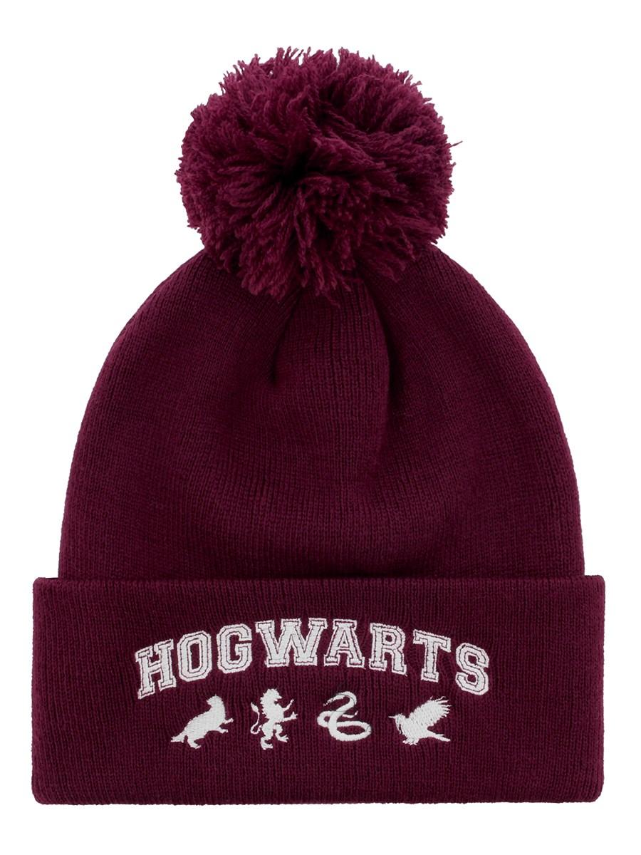 70bade864dd Harry Potter Hogwarts Pom Pom Beanie - Buy Online at Grindstore.com