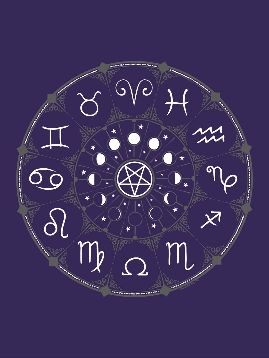 ef23d88d226 Zodiac Pentagram Purple Tote Bag - Buy Online at Grindstore.com