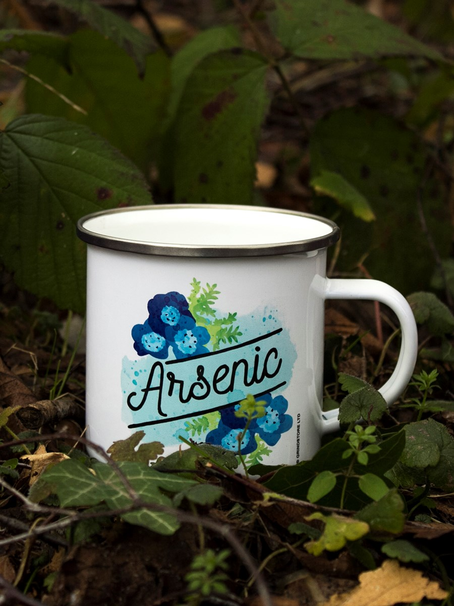 Deadly Detox Arsenic Enamel Mug