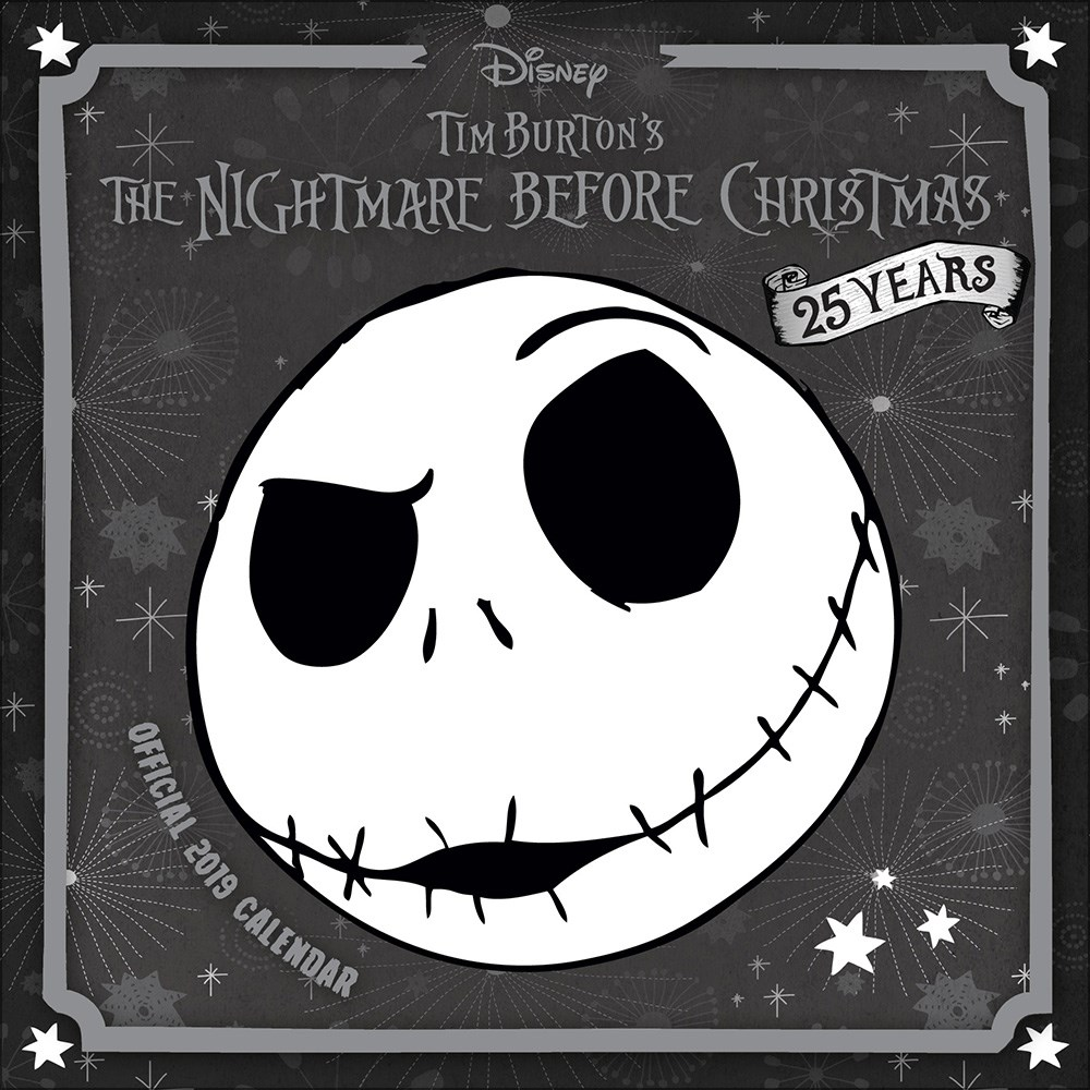 Nightmare Before Christmas 2019 Official Square Wall Calendar - Buy ...