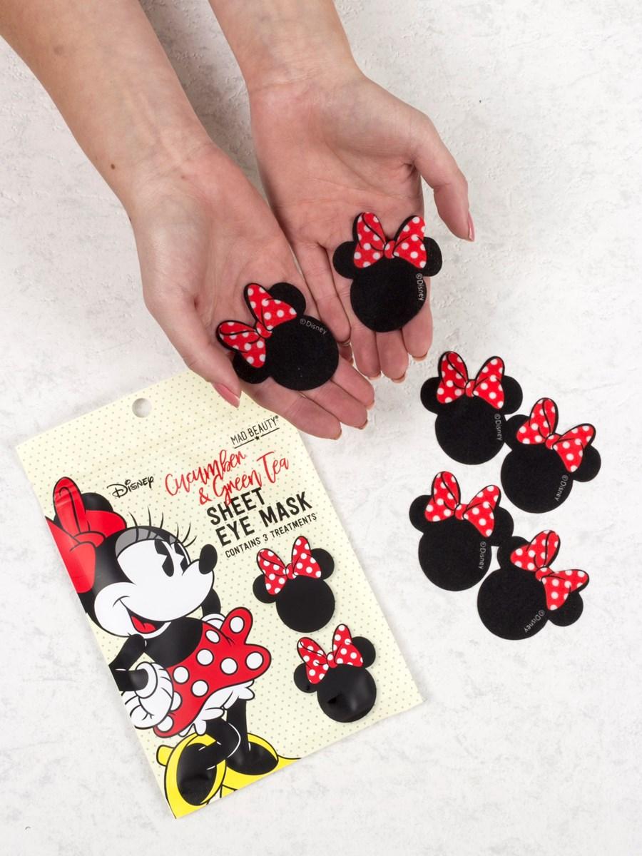 Disney Minnie Mouse Cucumber & Green Tea Sheet Eye Masks