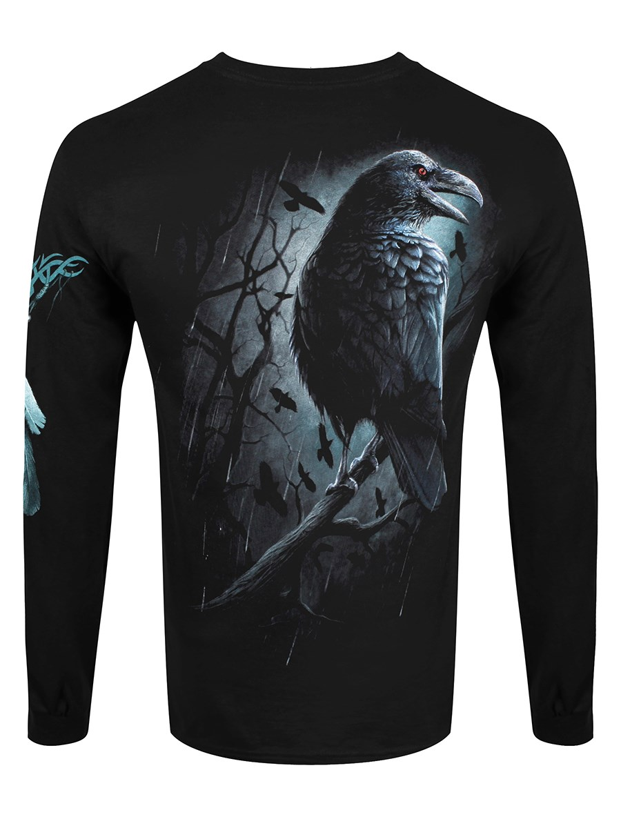 f55099a2 Spiral Shadow Raven Men's Long Sleeved T-Shirt