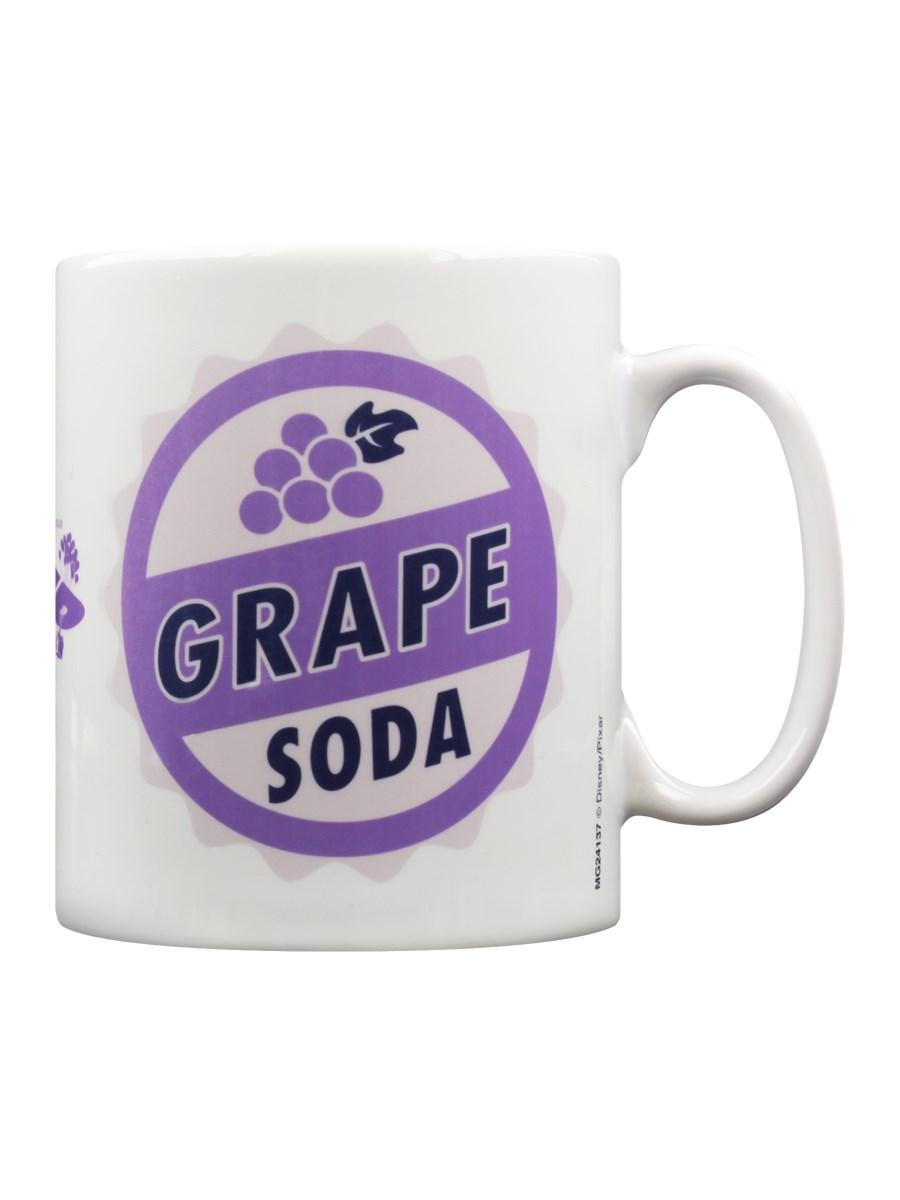 Disney Mug Pixar UP Grape Soda White