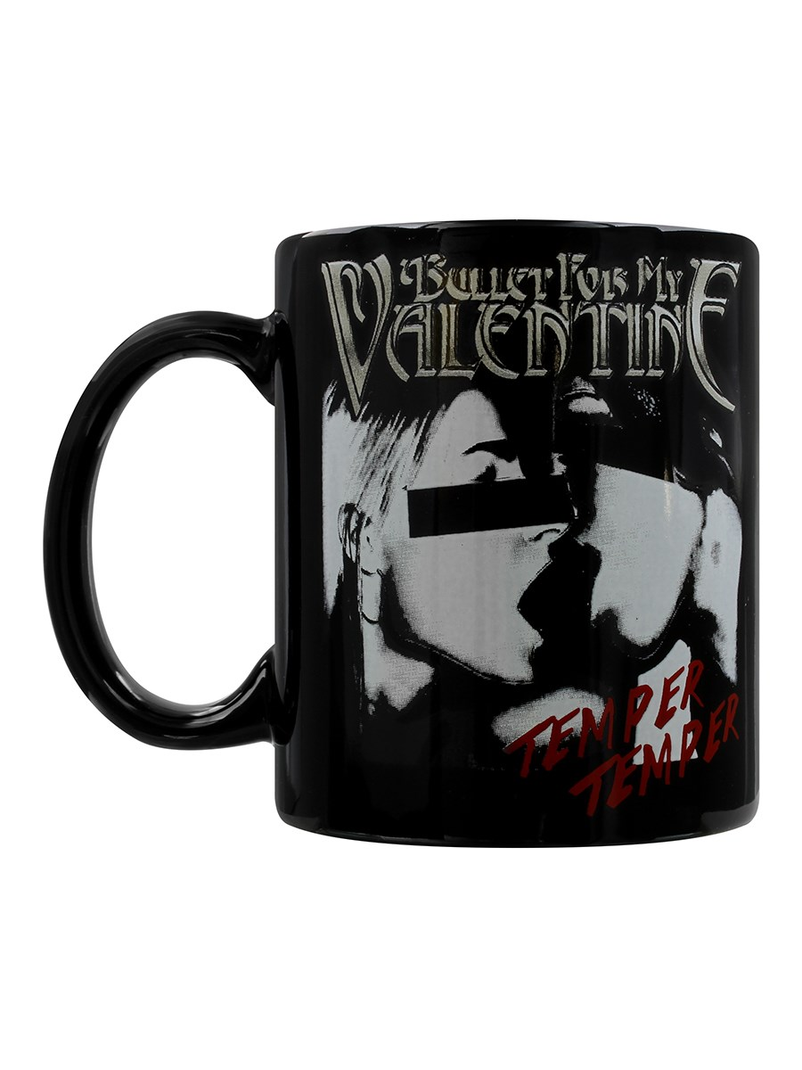 Bullet For My Valentine Temper Temper Boxed Black Mug Buy Online