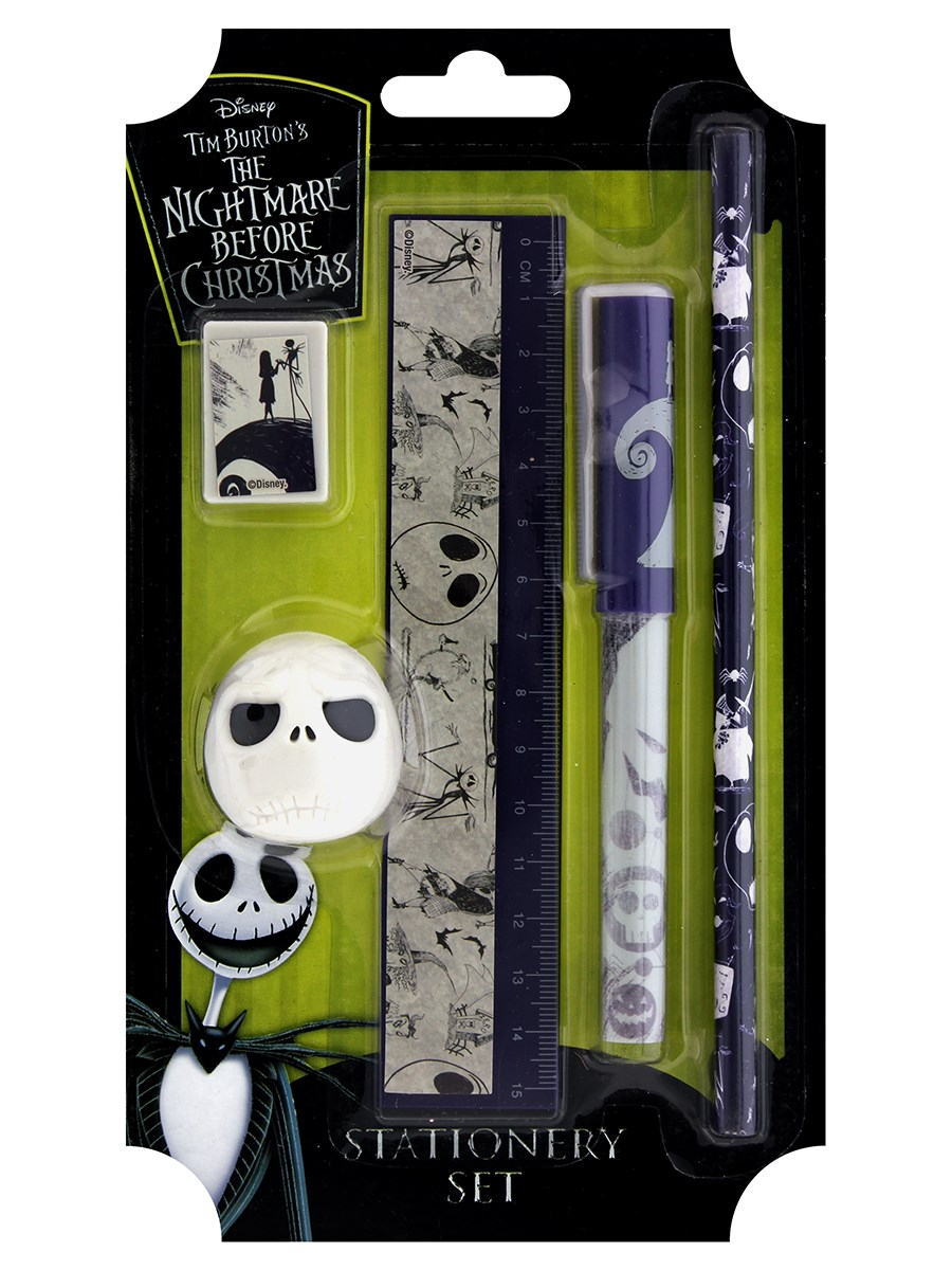 Nightmare Before Christmas Spiral Hill Stationery Set - Buy Online ...