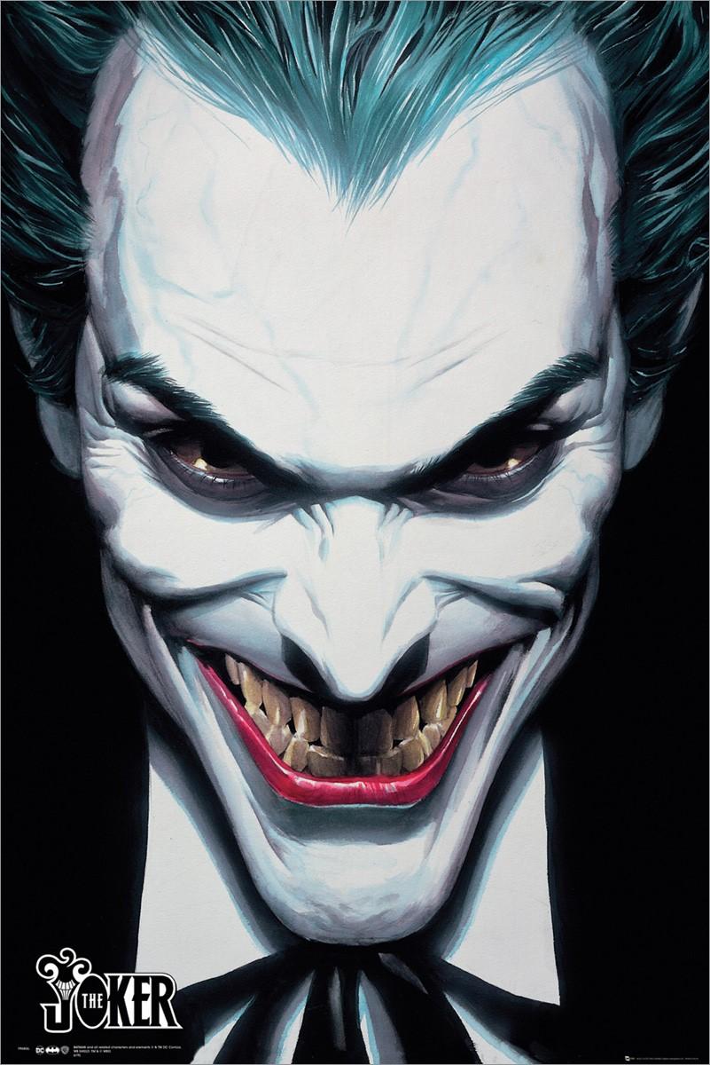 Dc Comics Joker Ross Poster
