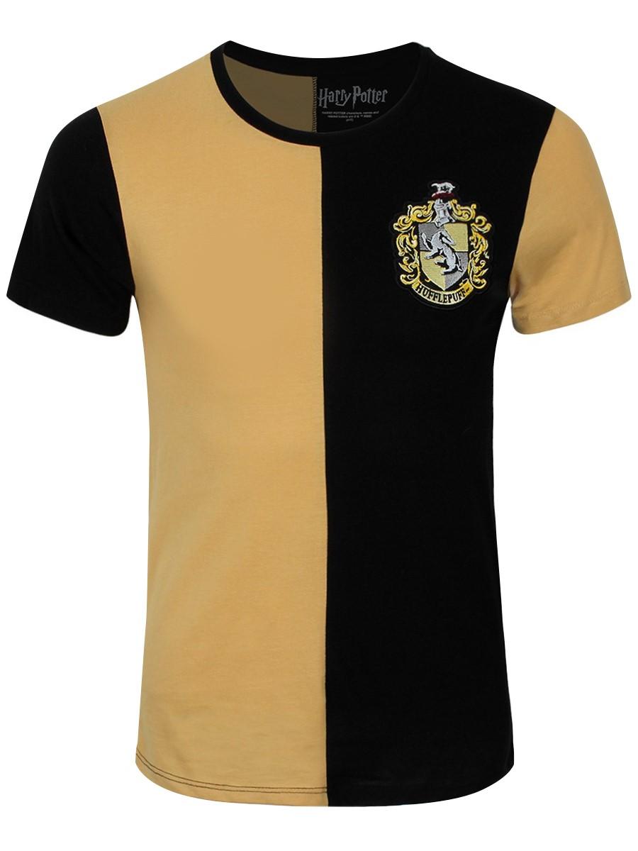 286b76f61 Harry Potter Hufflepuff Quidditch Team Men's T-Shirt - Buy Online at ...
