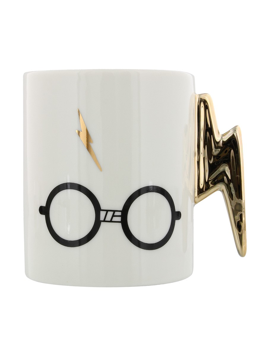 NEW OFFICIAL Harry Potter Lightning Bolt and Glasses Ladies Womens T-Shirt Top
