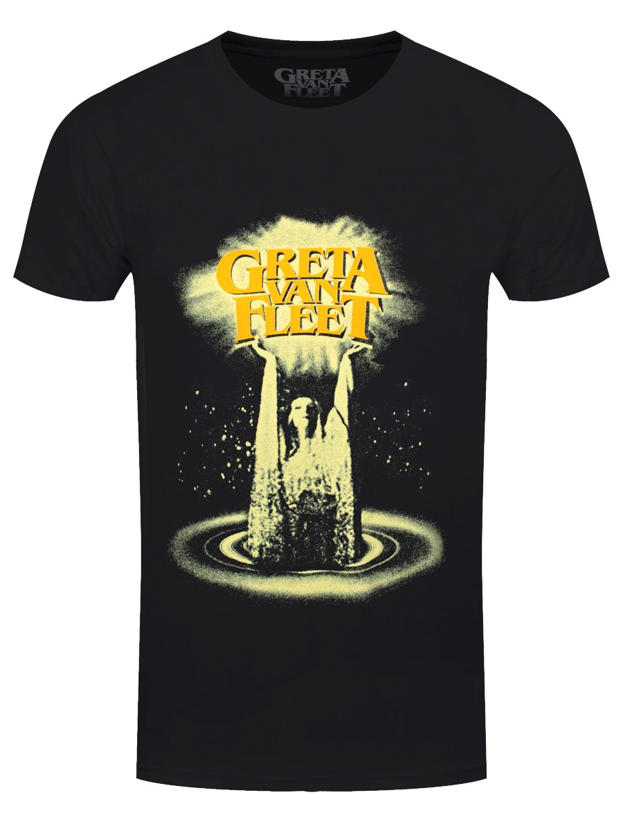 60% discount latest selection of 2019 superior materials Greta Van Fleet Cinematic Lights Men's Black T-Shirt