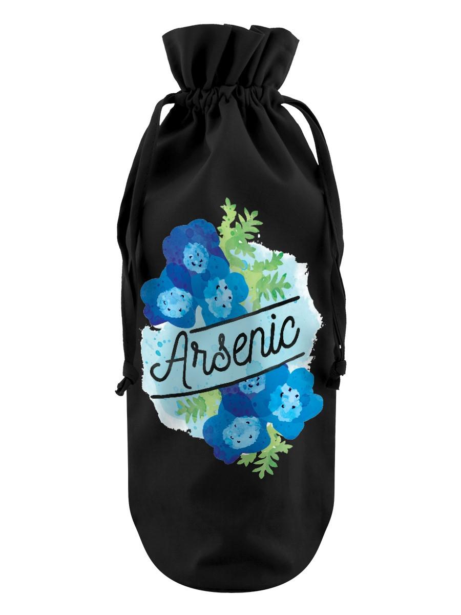 Deadly Detox Arsenic Black Bottle Bag